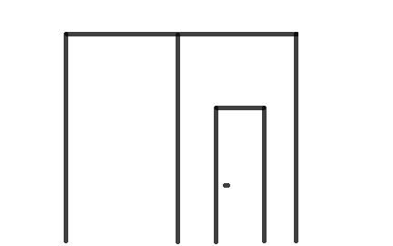 portón puerta integrada
