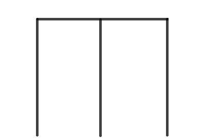 portón doble hoja