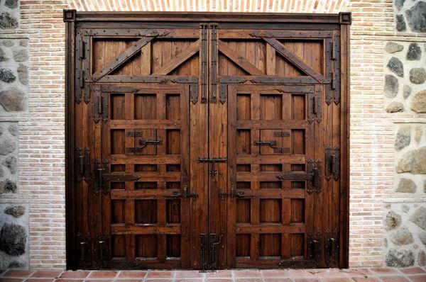 Blog port n cl sico for Porton madera antiguo