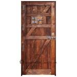 puerta rustica pals trasera