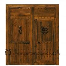 Puertas madera rusticas