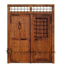 catlogo de puertas rsticas y portones de madera