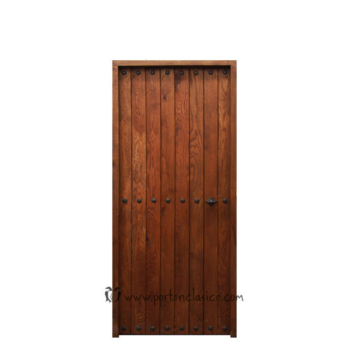 puerta de madera interior Pals