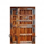Puerta rustica partida Ambrosia