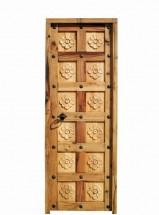 Cat logo de puertas r sticas y portones de madera port n for Puertas interior valencia