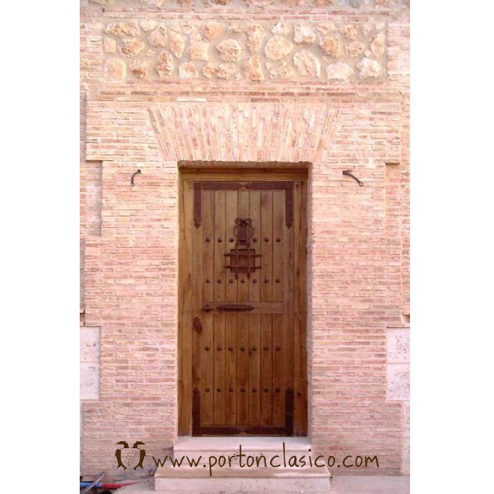 puerta modelo guadamur en cuenca