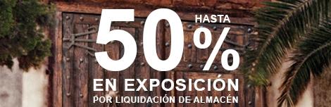 banner 50 dto en exposicion