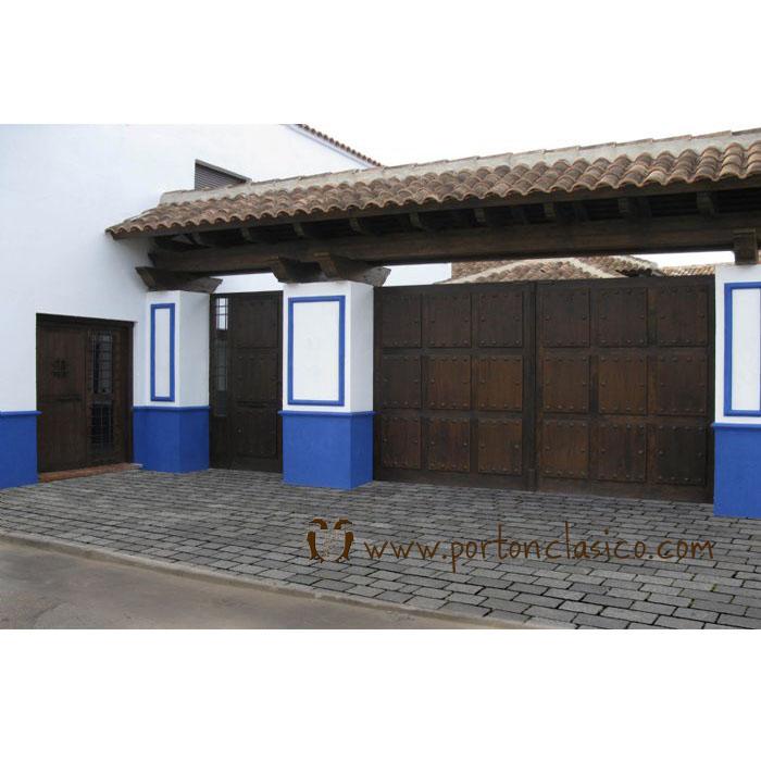 Puerta Bodega Manzaneque (Toledo)