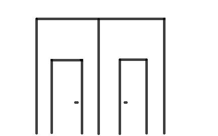 doble puerta en portón
