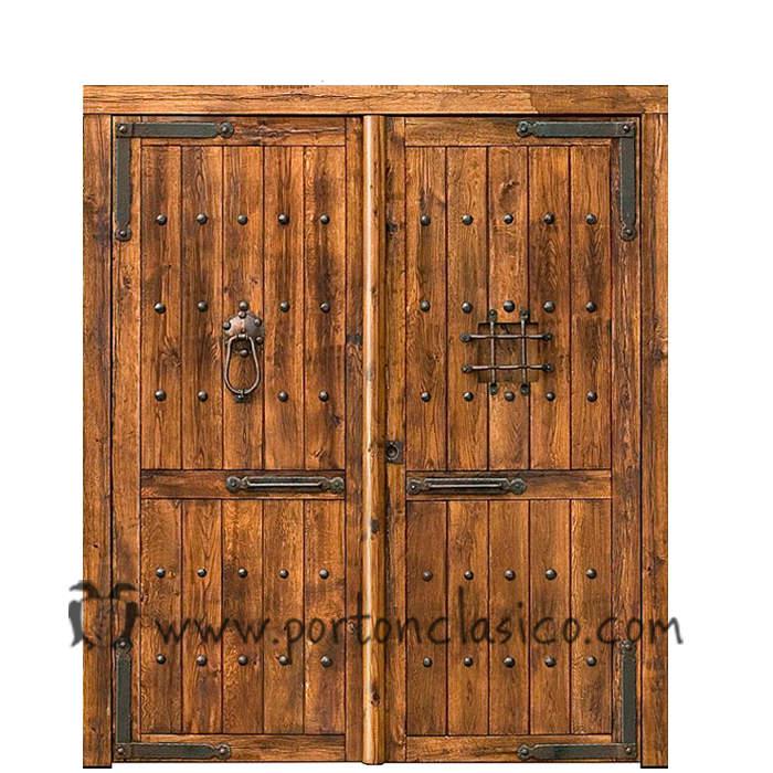 Porte anciennes Valladolid 230x190x8