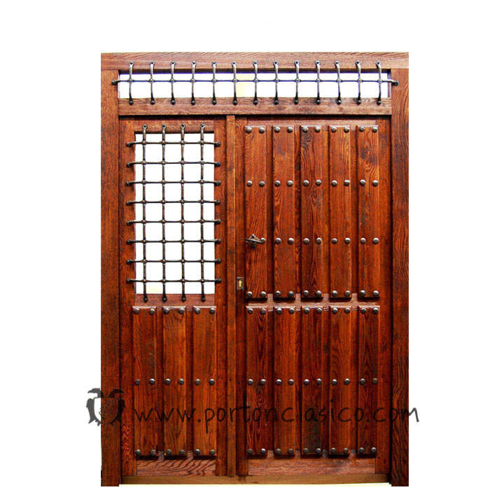 Rustic door Ronda 230x175x8