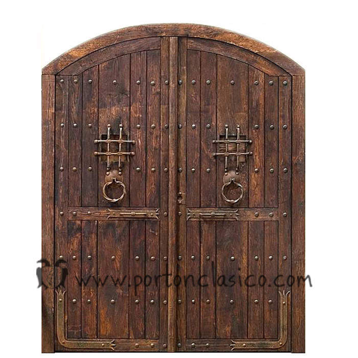 Porte ancienne Burguete 250x200x8