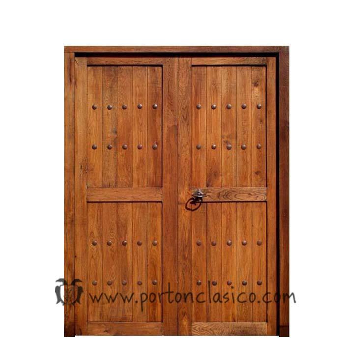 Double porte intérieure Guadamur 205x146x4