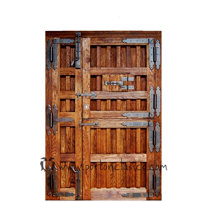 Rustikale Tür Ambrosia 220x150x8