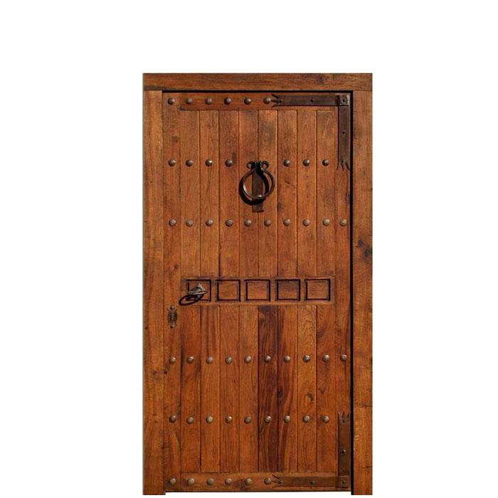 Puerta rústica Córdoba 220x120x8