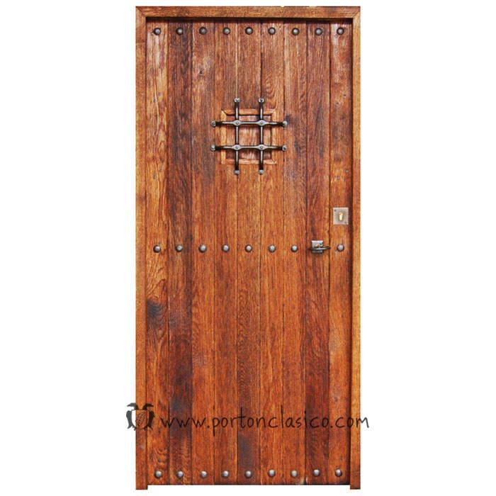 Porte rustique Pals 205x96x4,5