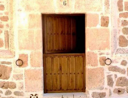 Rustic door Ambrosia in Burgos