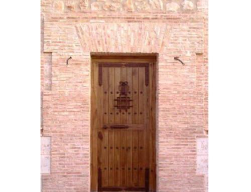 Porte rustique Guadamur à Cuenca