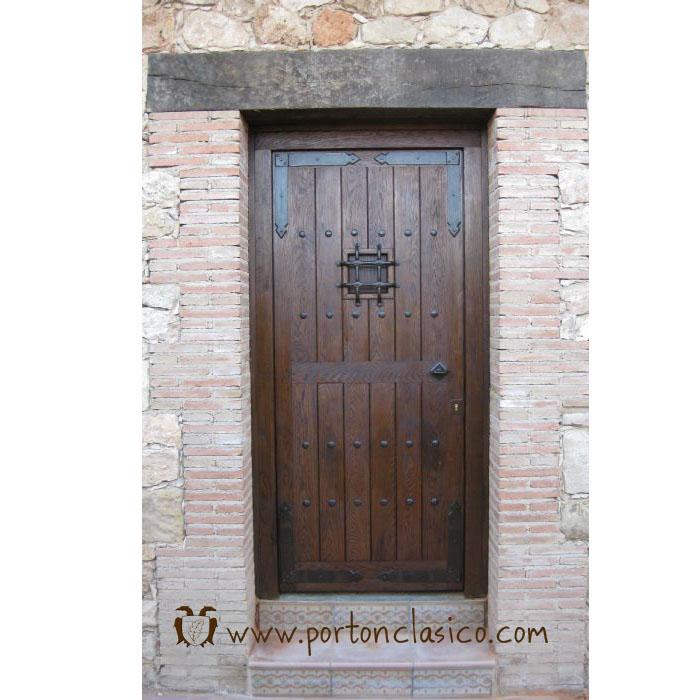 Porta rústica Guadamur em Guadalajara