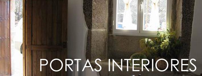 Portas Rústicas de Interior
