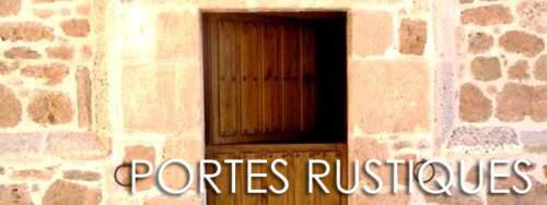 Portes rustiques