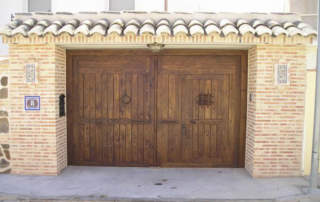 Portón rústico Almonacid (Toledo)