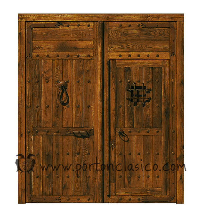 Porte ancienne Almonacid 250x220x8
