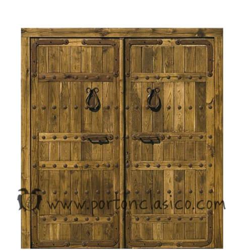 Porte ancienne Aragón 240x220x8