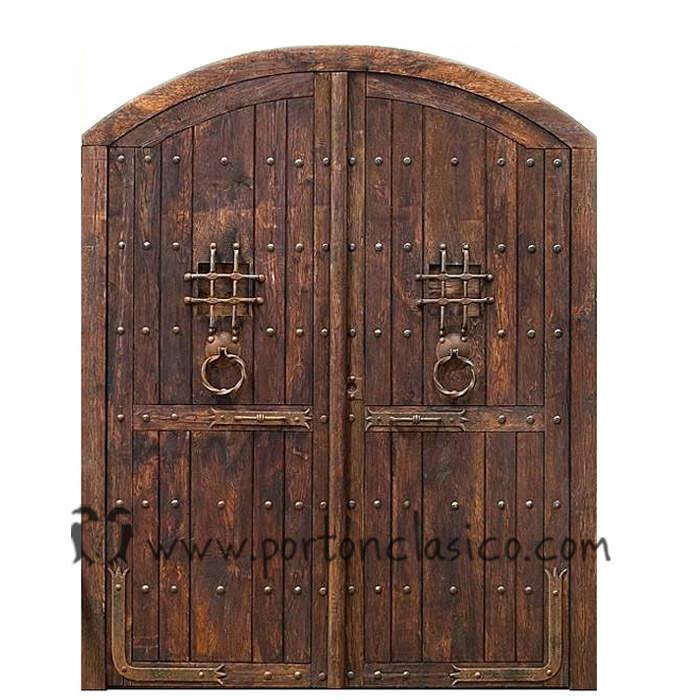 Portón Burguete 250x200x8