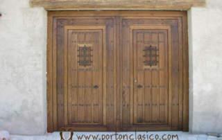 Puerta rústica Ronda (Almería)