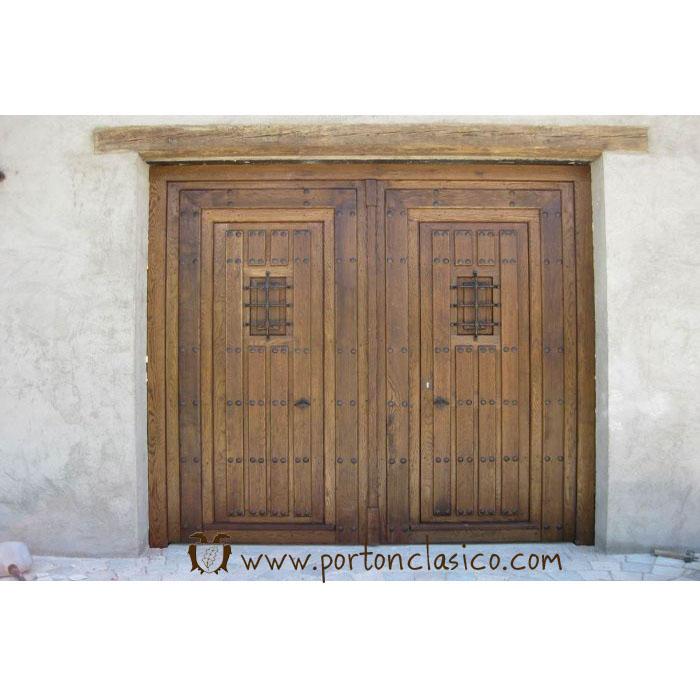 Rustic door round in Almeria