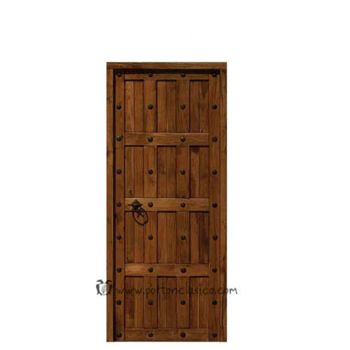 Puerta modelo Granada 205x86x4 hoja 80cm