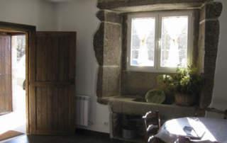 Puerta interior Guadamur (Pontevedra)