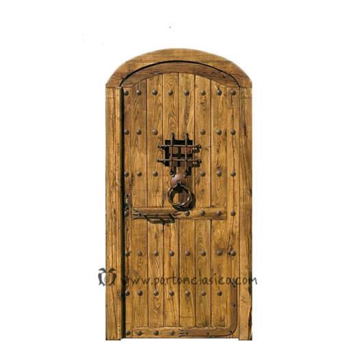 Puerta rústica Burguete 220x110x8