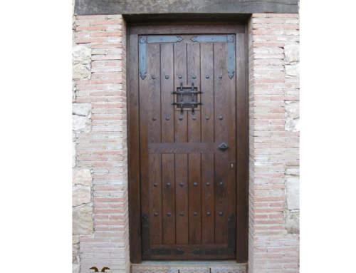 Puerta rústica Guadamur (Guadalajara)