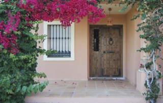 Puerta rústica Guadamur (Málaga)