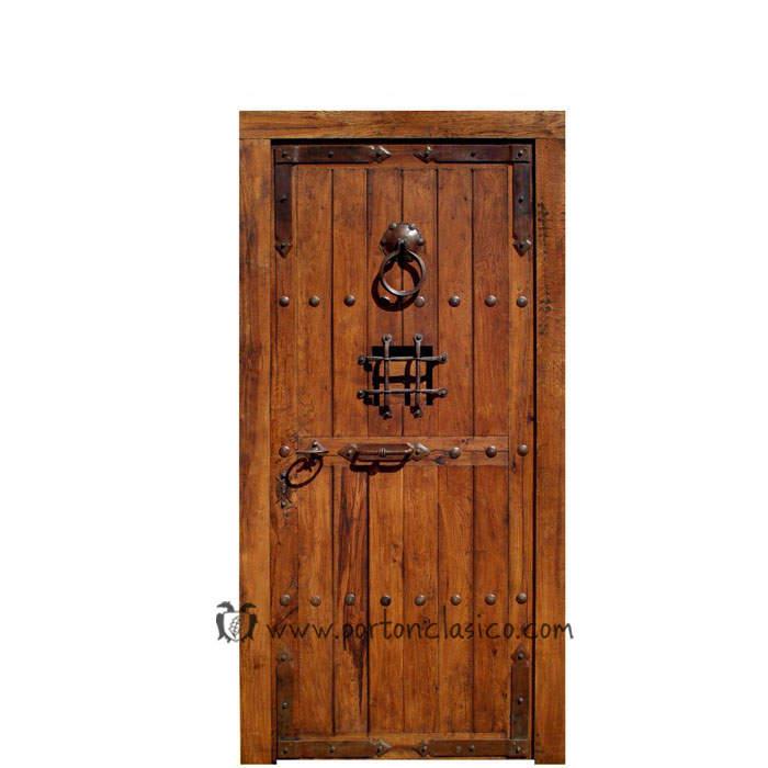 Puerta rústica Guadamur 220x110x8