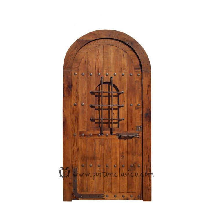 Puerta rústica Mojacar 220x120x8