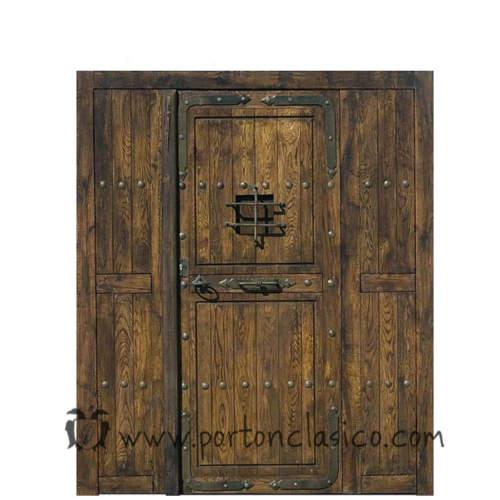 Catalogo De Puertas Y Portones De Madera Porton Clasico