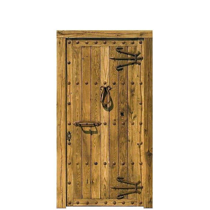 Porte rustique Zarauz 220x110x8
