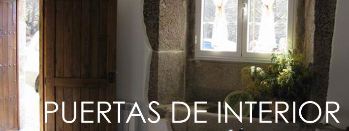 Puertas de madera de roble para interior
